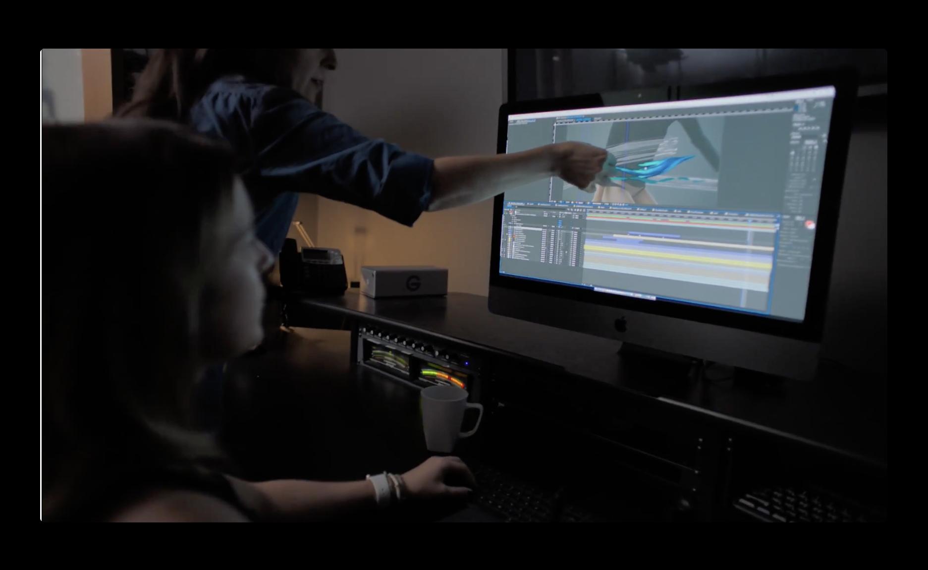 Apple,iMac Proのパワーを実証するためのショートフィルムやその舞台裏の未公開の2本をYouTubeで公開