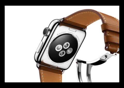 Apple、交換可能なバックプレートを使用してApple Watchアップグレードを検討