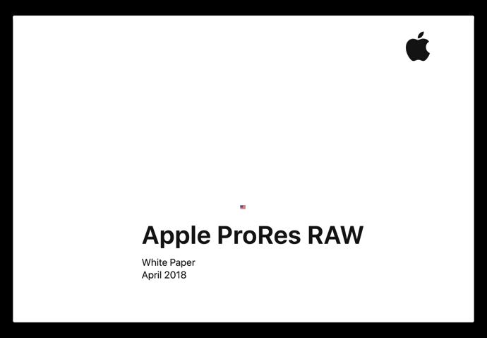 Apple ProRes RAW 005