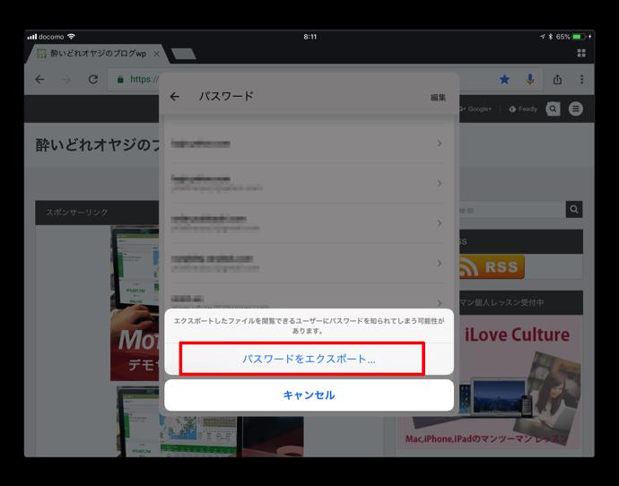 Chrome Password 006