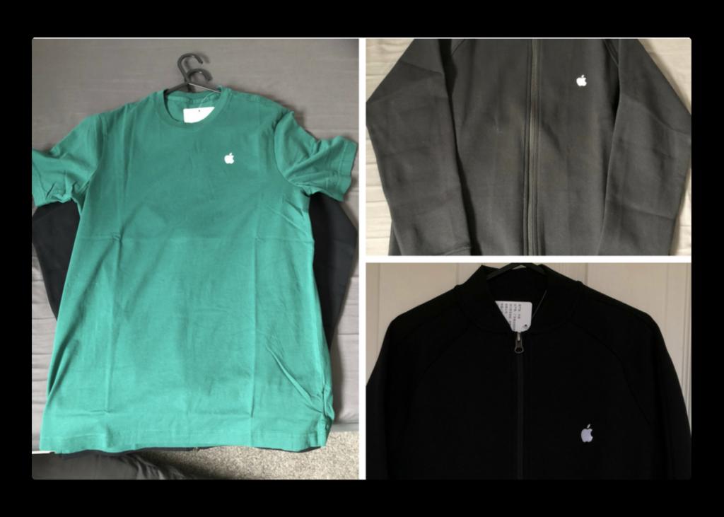 Apple Storeの従業員が「アースデイ」を祝うため、4月13日から新しい緑の制服を着用