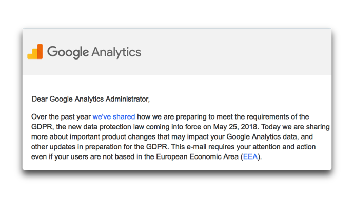 Google Analytics GDPR 001