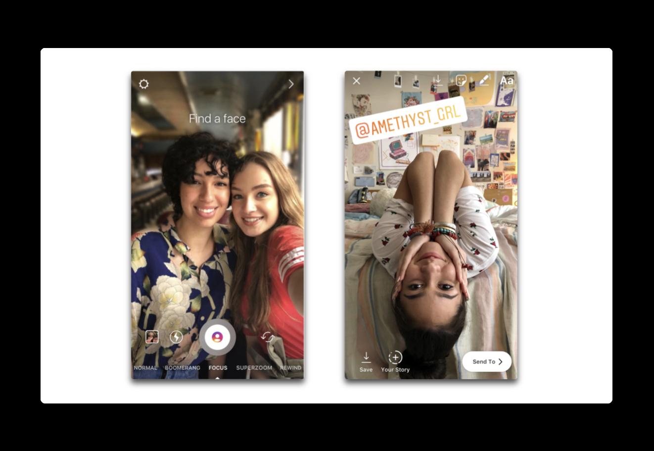 Instagram、ポートレートモードの写真にiPhoneのフォーカスモードに似た新しい「フォーカス」機能を追加