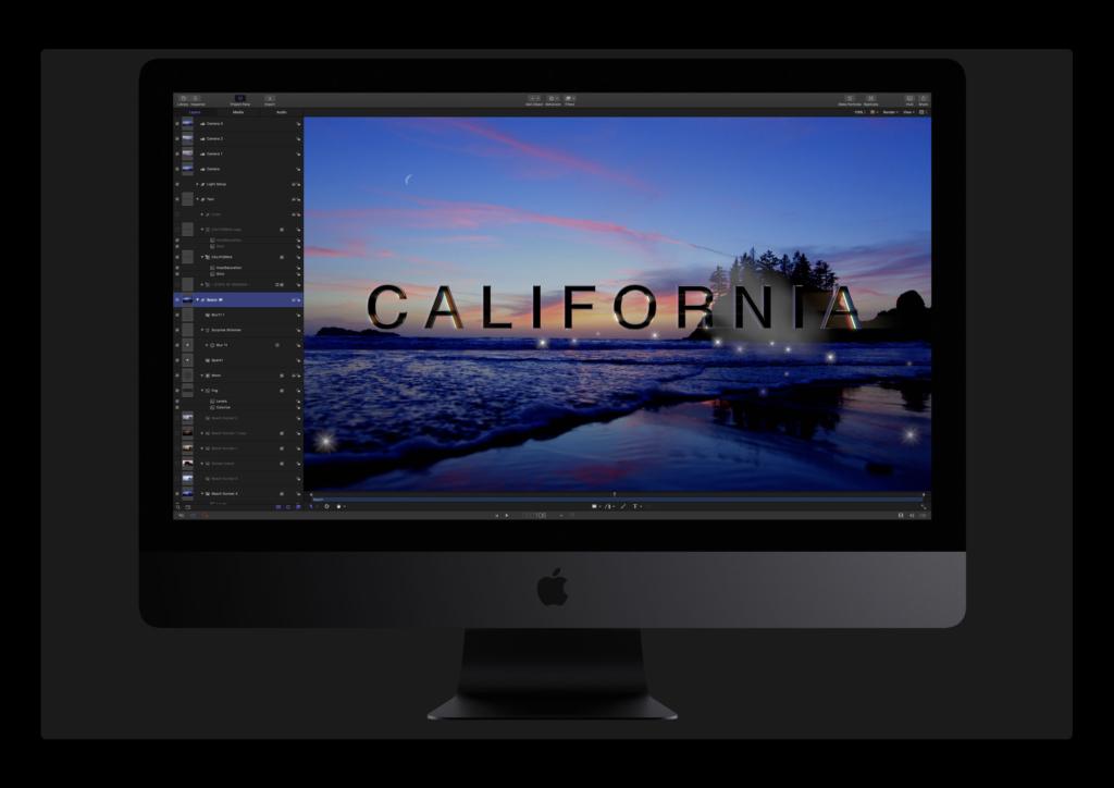 Apple、ProRes RAWファイルをサポートした「Motion 5.4.1」をリリース