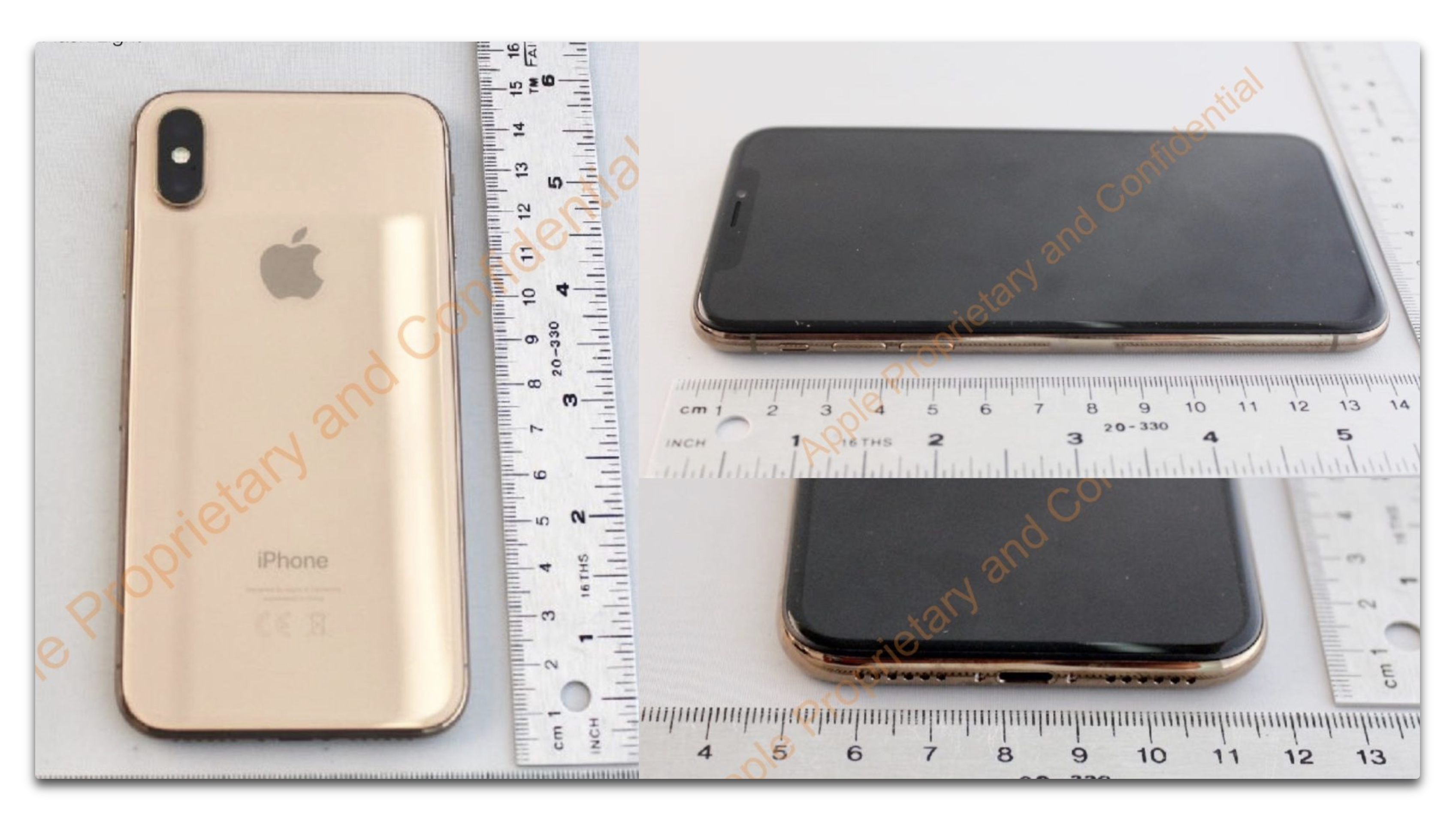 iPhone Xには、Goldモデルの計画があった