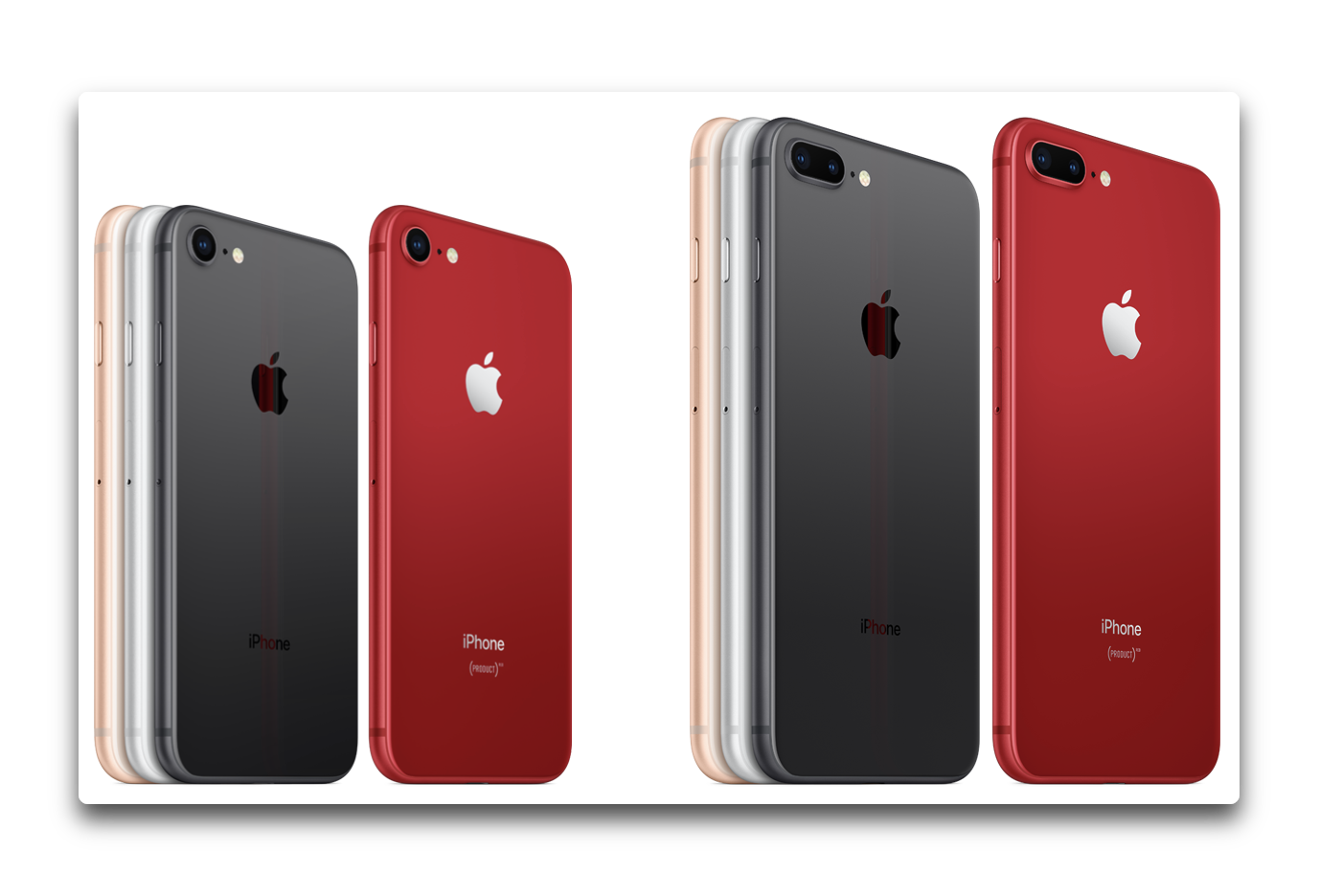 Apple Japan、「iPhone 8 (PRODUCT)RED™ Special Edition」のCFを公開