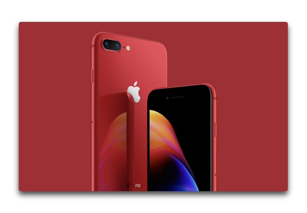 Apple、iPhone 8/8 Plus (PRODUCT)RED の予約受付を開始