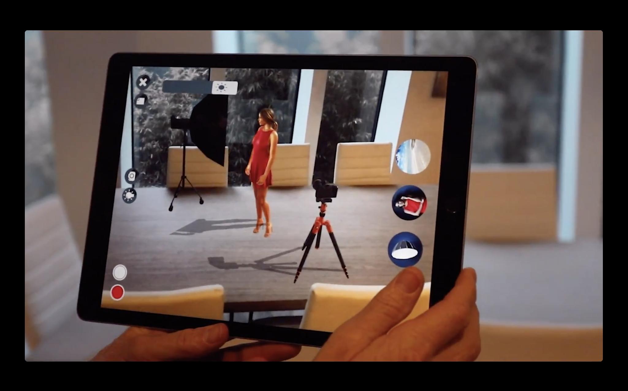 【iOS】仮想写真スタジオを再現するARアプリ「Photo Studio – AR」