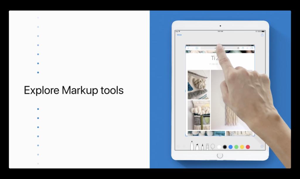 Apple Support、iPadでマークアップを使用するハウツービデオを公開