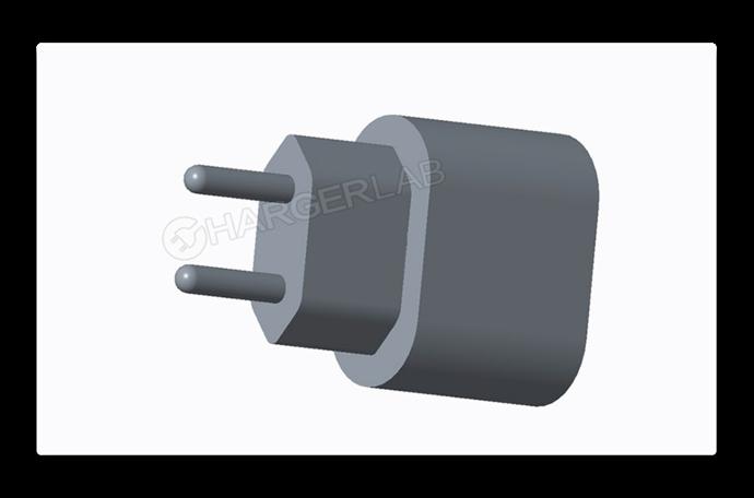 2018年iPhoneにバンドルされる?新しい18W Apple USB-C充電器のレンダリング画像