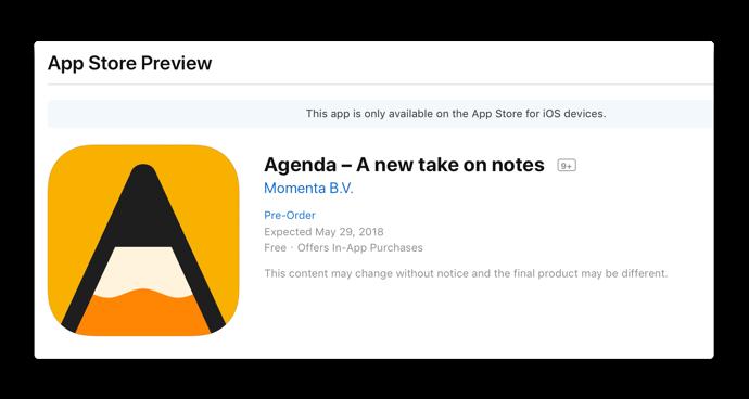 Agenda iOS 001 z