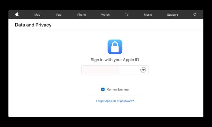 Apple、新しくData and privacyのサイトを公開、ユーザはAppleが知っている全てのコピーをダウンロード出来る