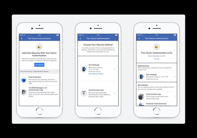 Facebookは2要素設定を簡素化し、ホームサービスのサポートをMarketplaceに追加します