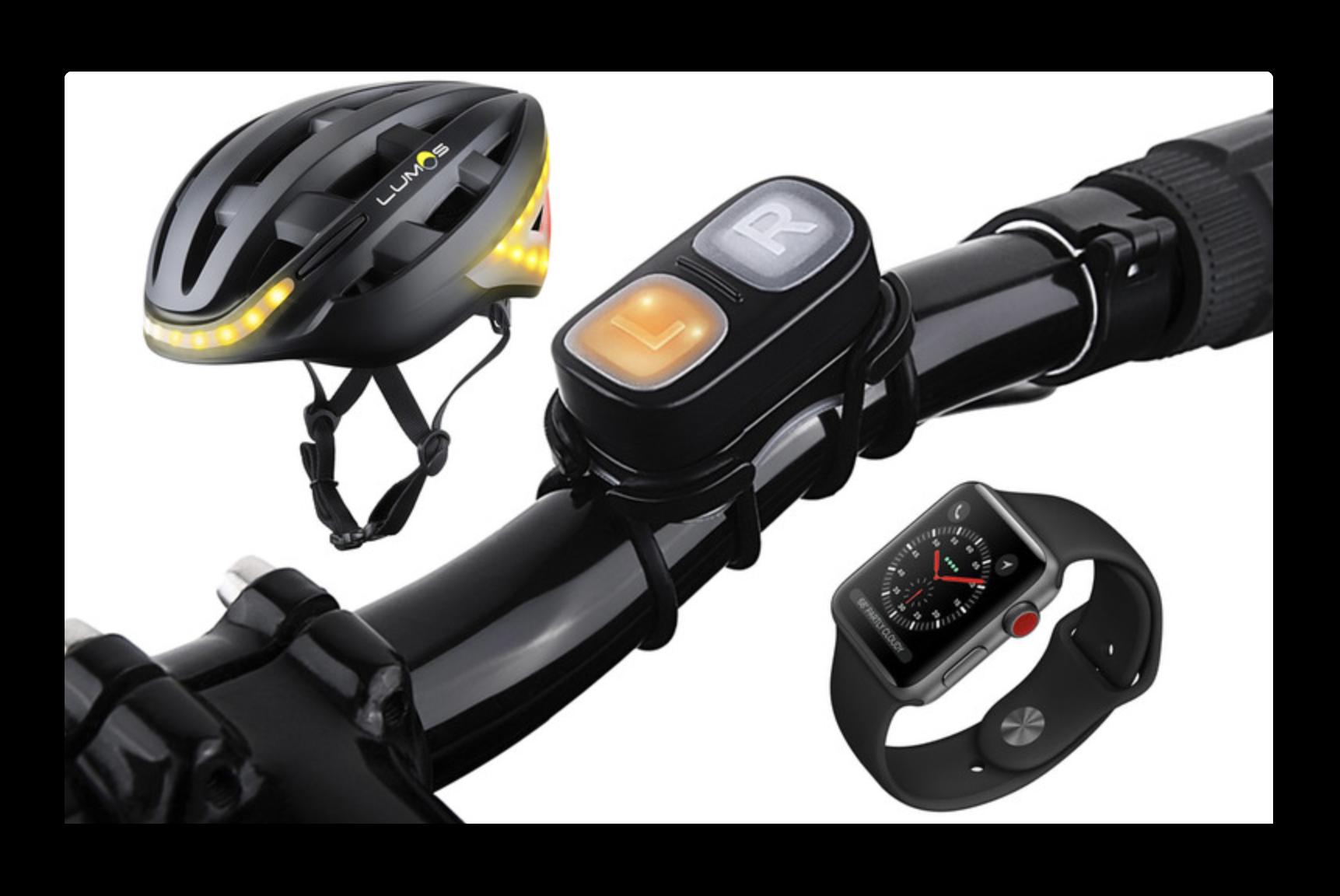 米国Apple Storeでは、安全性と健康状態を記録する自転車へルメットを販売