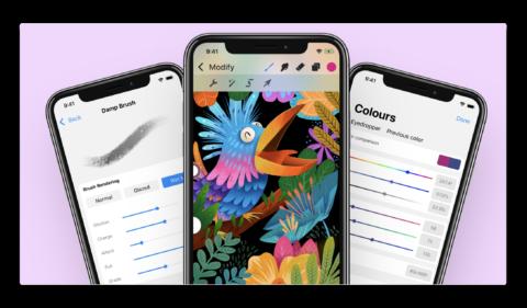 【iPhone】まったく新しいインターフェースで「Procreate Pocket」がメジャーアップデート