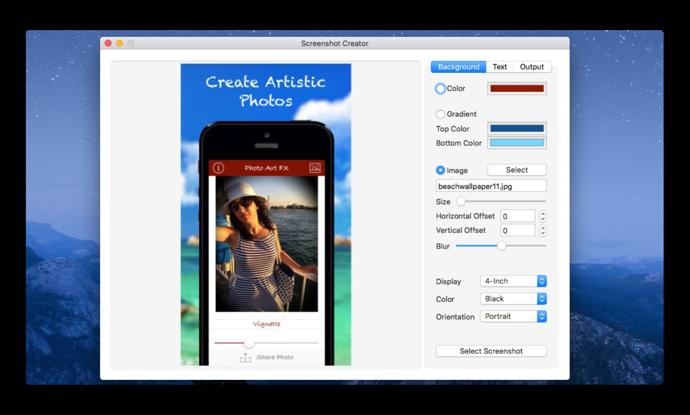 【Sale情報 / Mac】アプリケーションモックアップジェネレーター「Screenshot Creator」が期間限定で無料