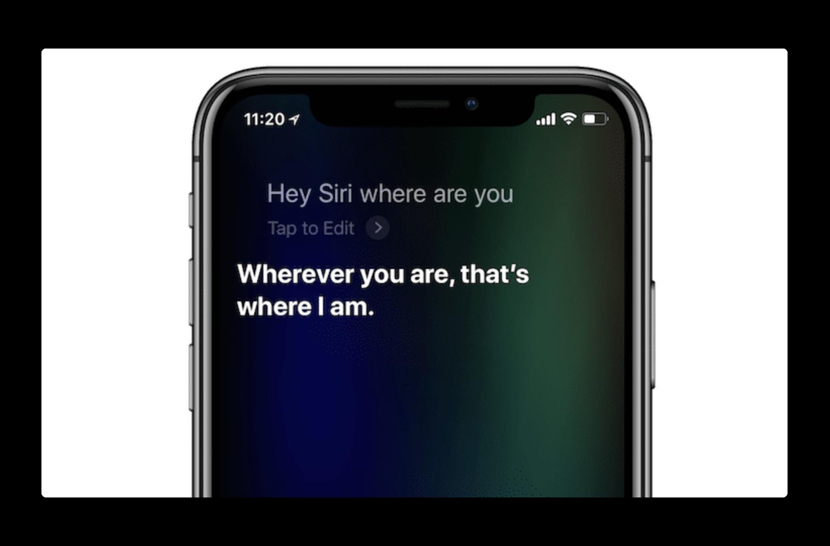 iOS 11.4 では、SiriはAirPlayコマンドを認識出来るようになる