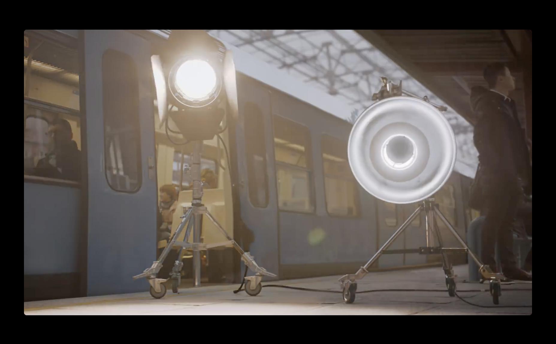 Apple、iPhone Xのポートレイト照明にフォーカスしたCFを公開