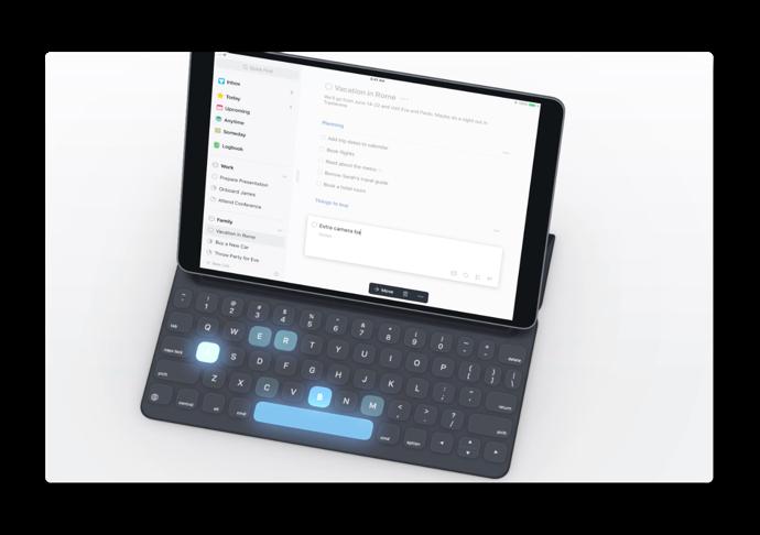 パーソナルタスクマネージャー「Things 3 for iPad」、外部キーボードのサポートを大幅に改良したバージョン3.6をリリース