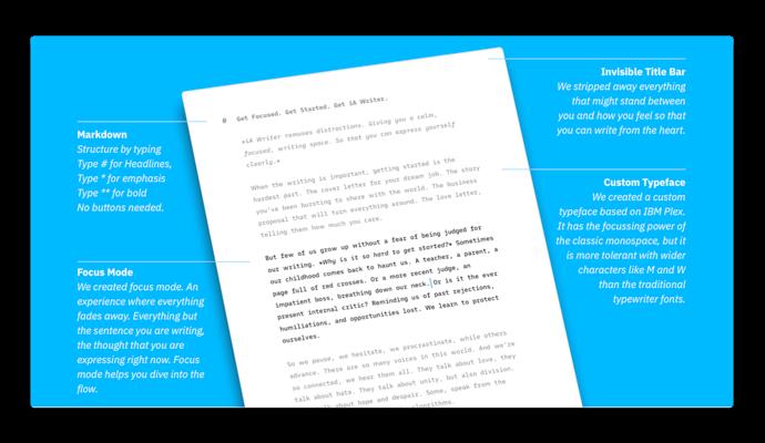 【Mac】テキストエディタ「iA Writer」がバージョン5へメジャーアップデート