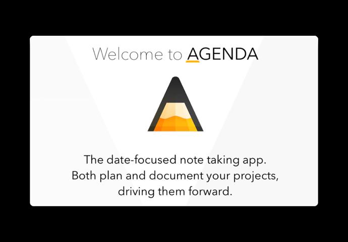 【iOS】メモをタイムラインで整理する「Agenda」がリリース、Mac版と同期が可能に