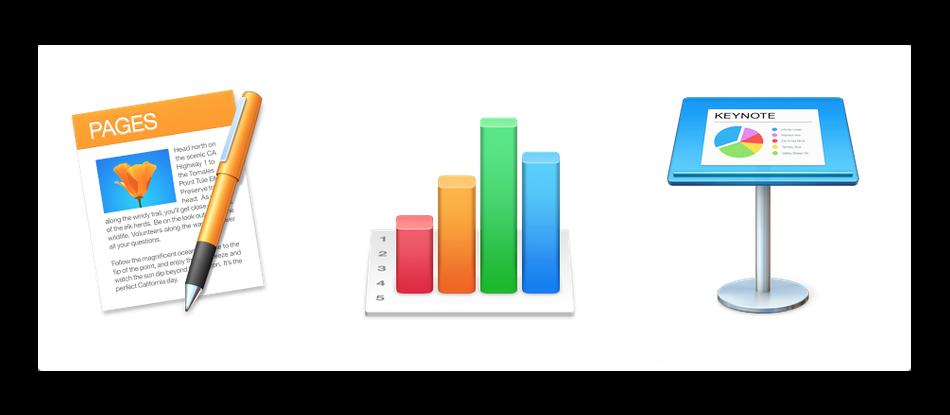 【Mac】Apple、安定性およびパフォーマンスを向上した「Pages 7.0.1」「Numbers 5.0.1」「Keynote 8.0.1」をリリース