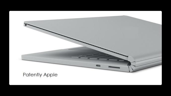 Appleの新しい特許、レーザーカットフレックスヒンジヒンジはMacBookに焦点を当てる