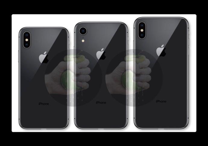 Apple、2018年のiPhoneのラインナップを描く回路図とレンダリング