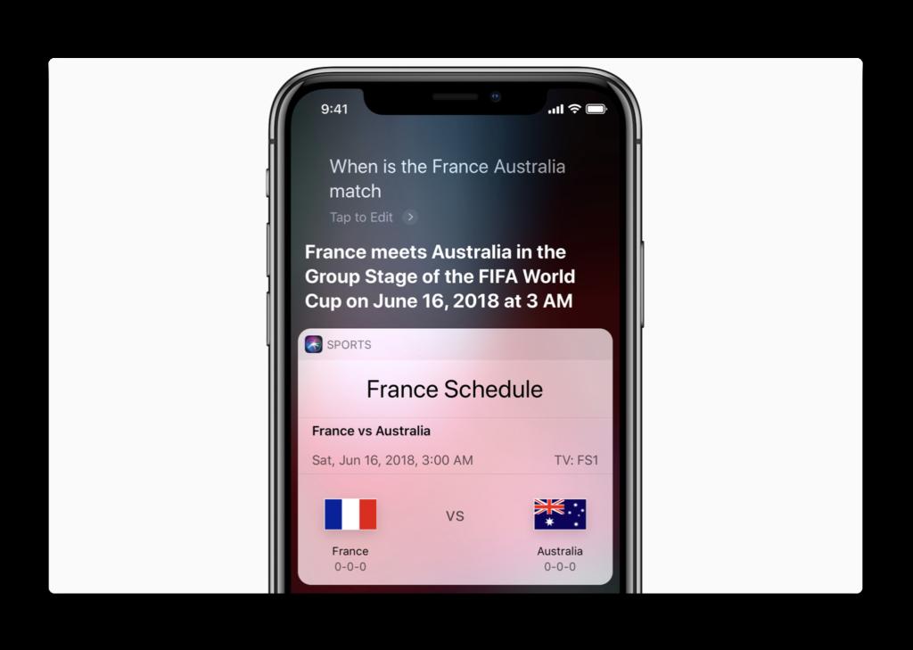 2018 FIFA ワールドカップを前に、Appleはワールドカップの最新情報を把握する方法を紹介