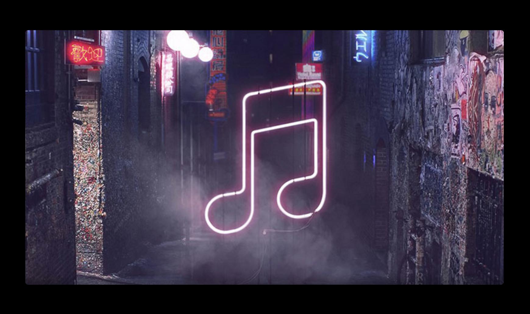 新しいWebプレーヤーでは、WebブラウザでApple Musicをフルトラック聴くことができる