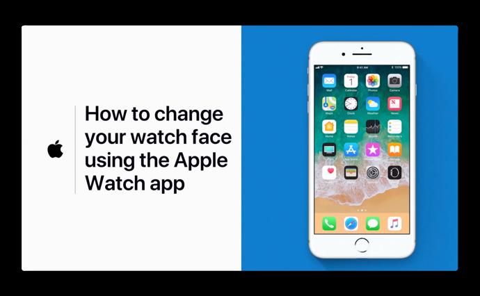 Apple Support、「Apple Watchの文字版を変更する方法」のハウツービデオを公開