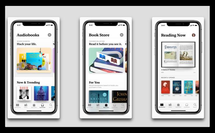 Apple、iBooksの後継となるApple Booksを紹介