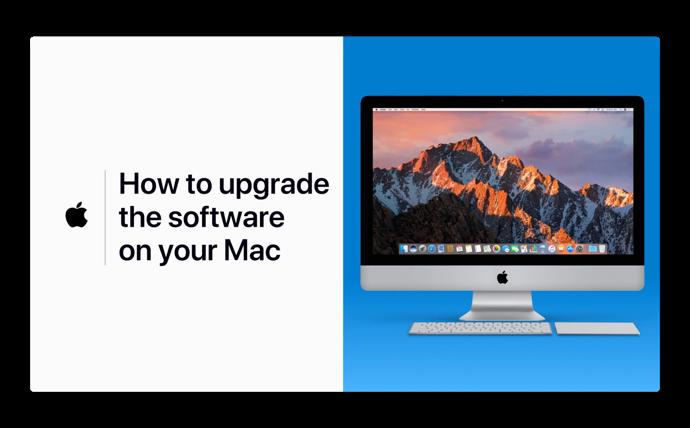Apple Support、「Macでソフトウェアをアップデートする方法」のハウツービデオを公開