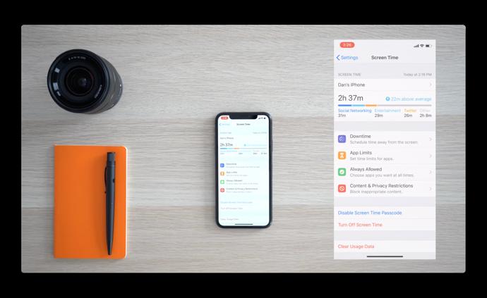 【iOS 12:新機能】「スクリーンタイム」アプリの使用状況、アプリの制限などのハンズオン ビデオ