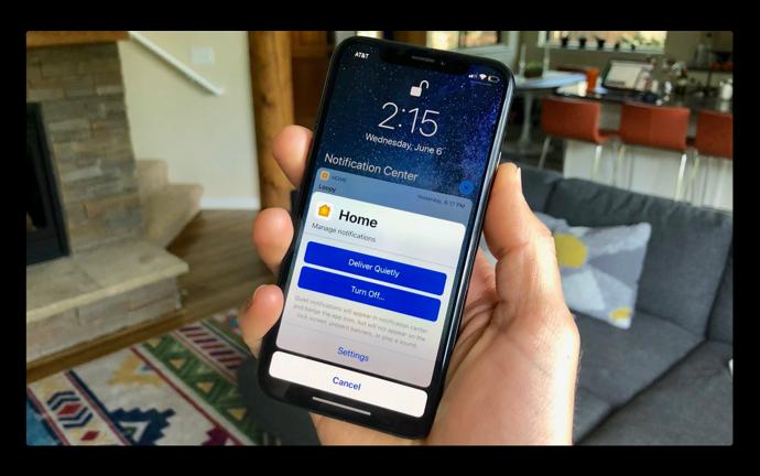 【iOS 12:新機能】iPhoneとiPadで「目立たない形で配信される通知」を有効にする方法