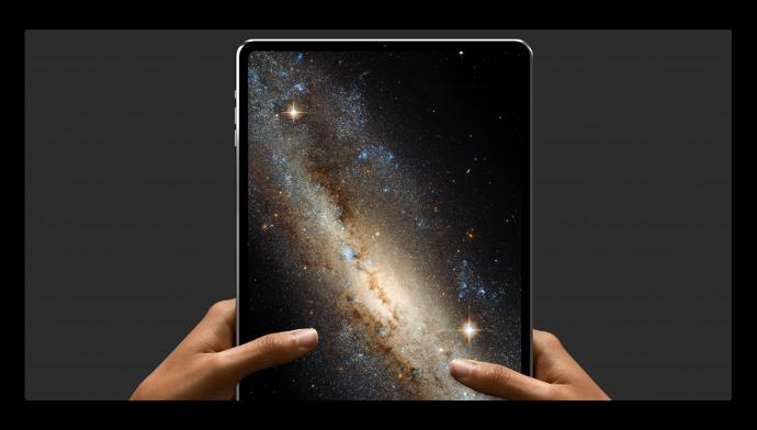 iPad Proのコンセプトは、11.9インチのディスプレイにFace ID