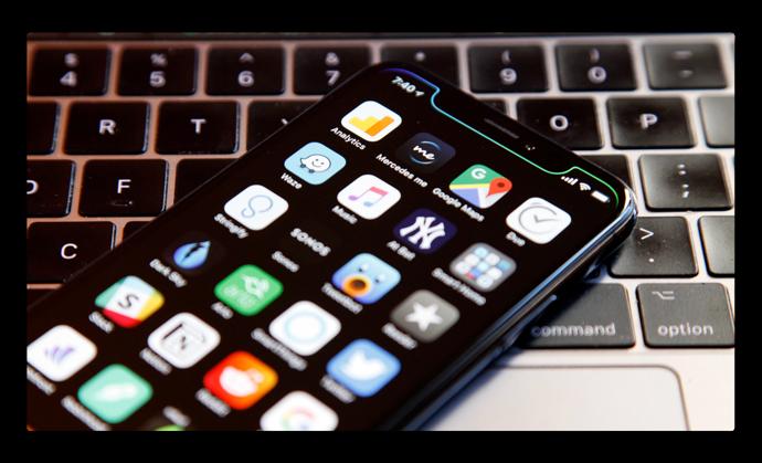 iOS 12から、iPhone X Plusの大きさが正確にわかる