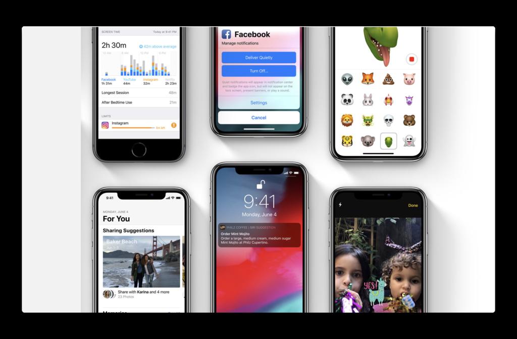 iOS 12 beta 2、30+の新機能と変更のビデオが公開