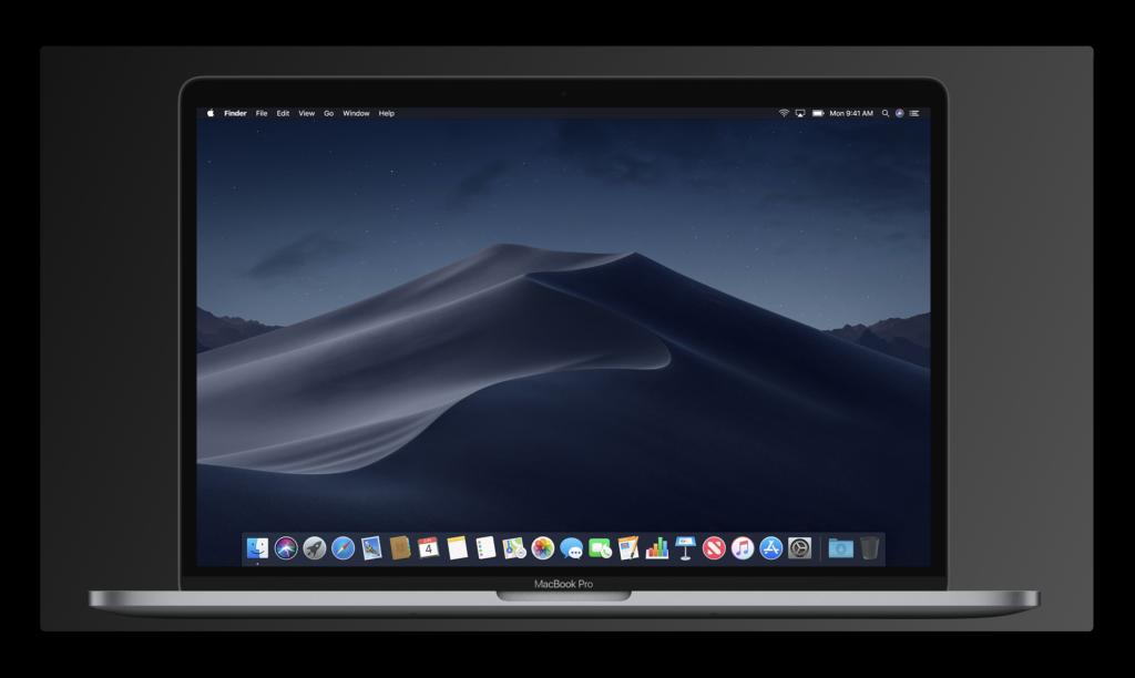 macOS Mojaveのダークモードに関する考え