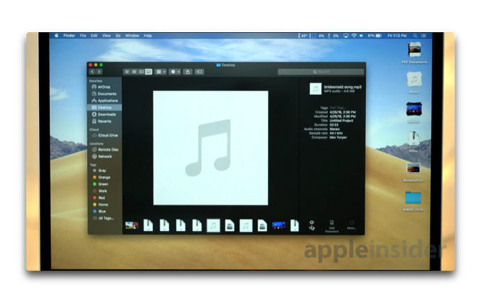 MacOS Mojave New Features 003 z