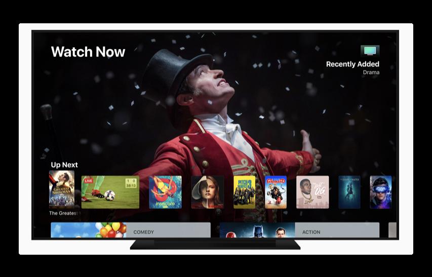 Apple、「tvOS 12 beta (16J5283n) 」を開発者にリリース