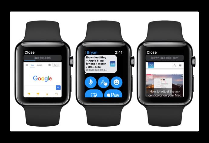 【watchOS 5】Apple Watchでウェブコンテンツを表示する方法