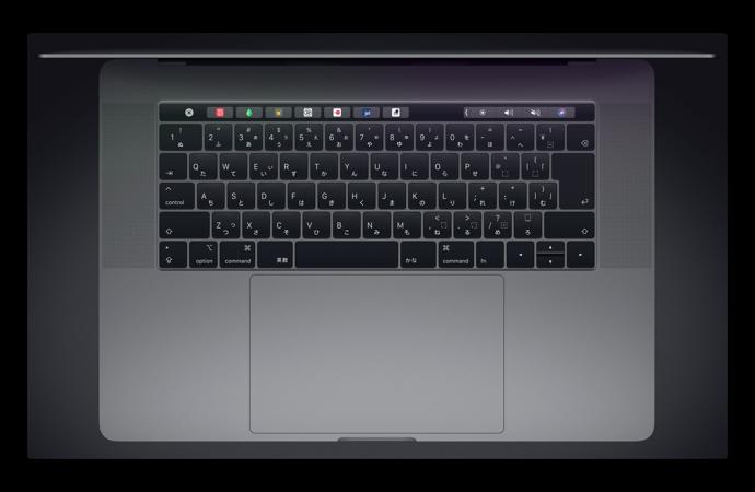 2018 MacBook Proは、キーボードの問題に対処したのかは不明
