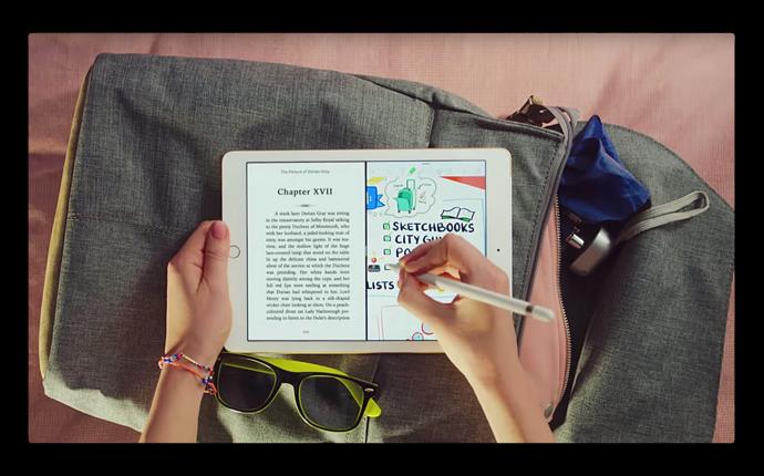 Apple、「iPad — All Your Stuff」などiPadの新しいCF4本を公開