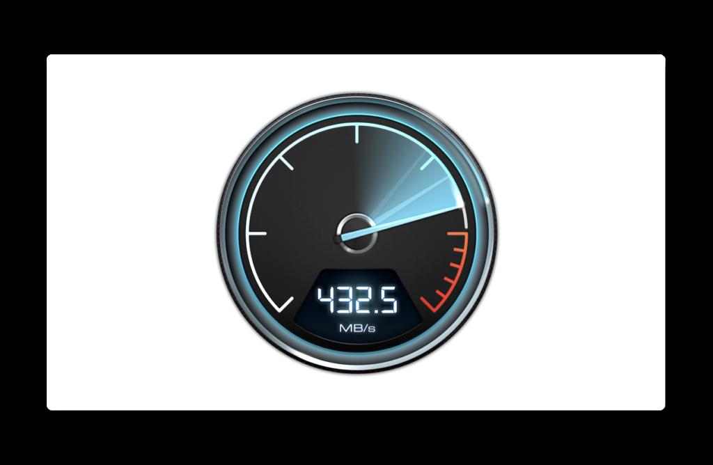 15インチMacBook Pro 2018のSSDはどれくらい高速なのか、「Blackmagic Disk Speed Test」で比較してみた