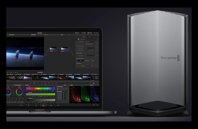 MacBook Proにデスクトップクラスのグラフィックス性能を「Blackmagic eGPU」のハンズオンビデオが公開