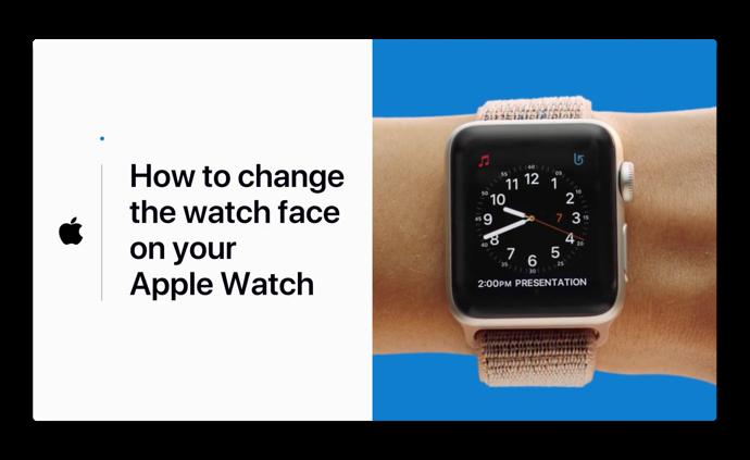 Apple Support、「Apple Watchの文字盤を変える方法」のハウツービデオを公開
