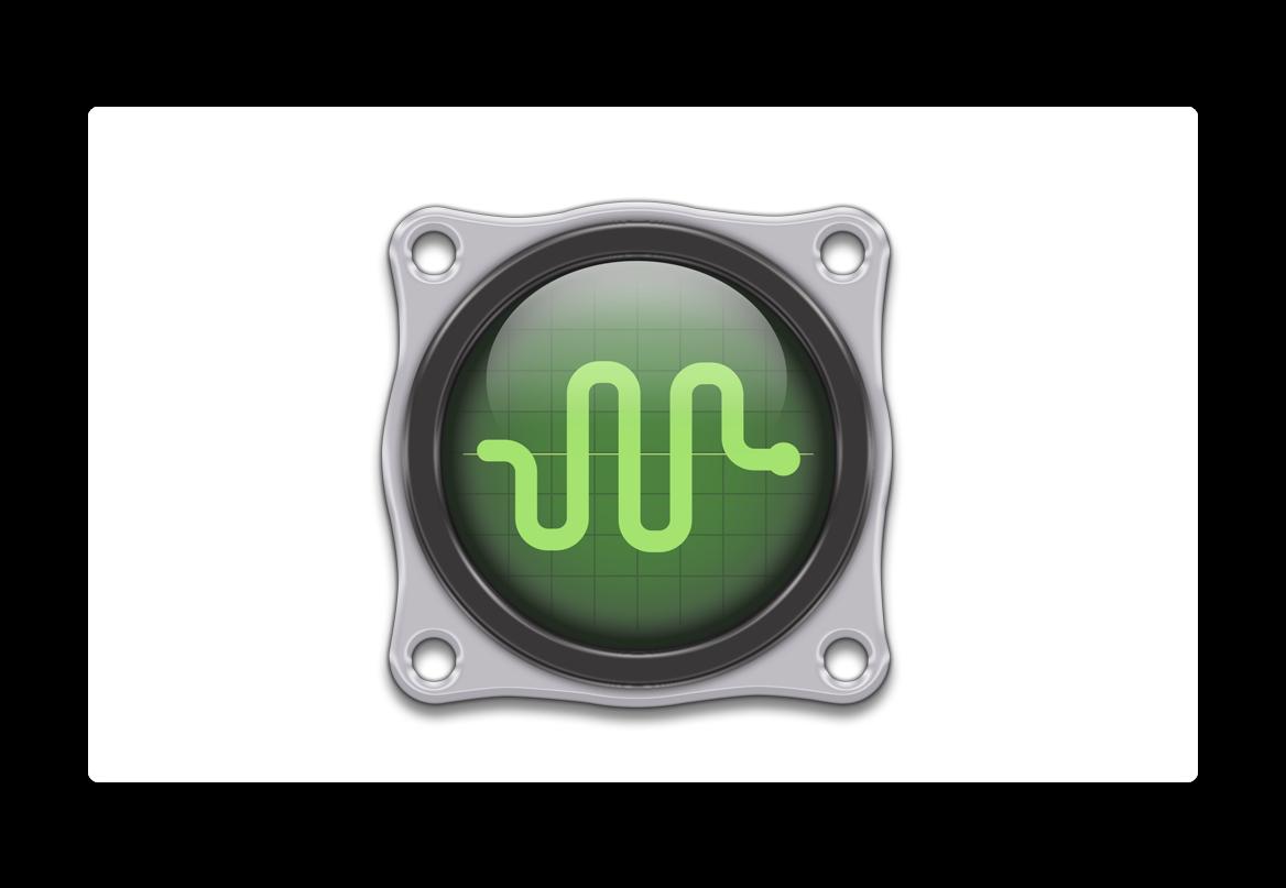 Macの温度やシステム情報を表示することが出来る、無料のアプリ