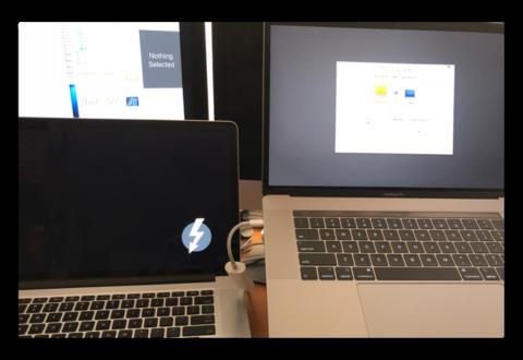 Macから新しいMac(MacBook Pro 2018)に「移行アシスタント」でコンテンツを移行