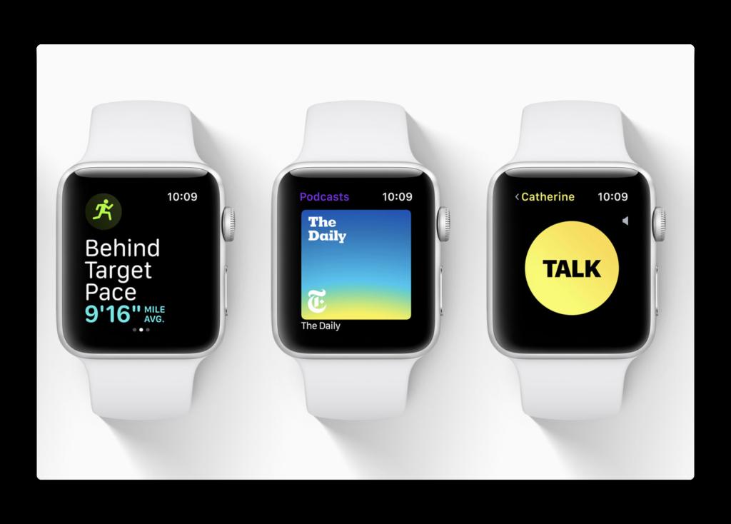 watchOS 5 betaで、一部のユーザーでは「手を上げて話す」が有効に